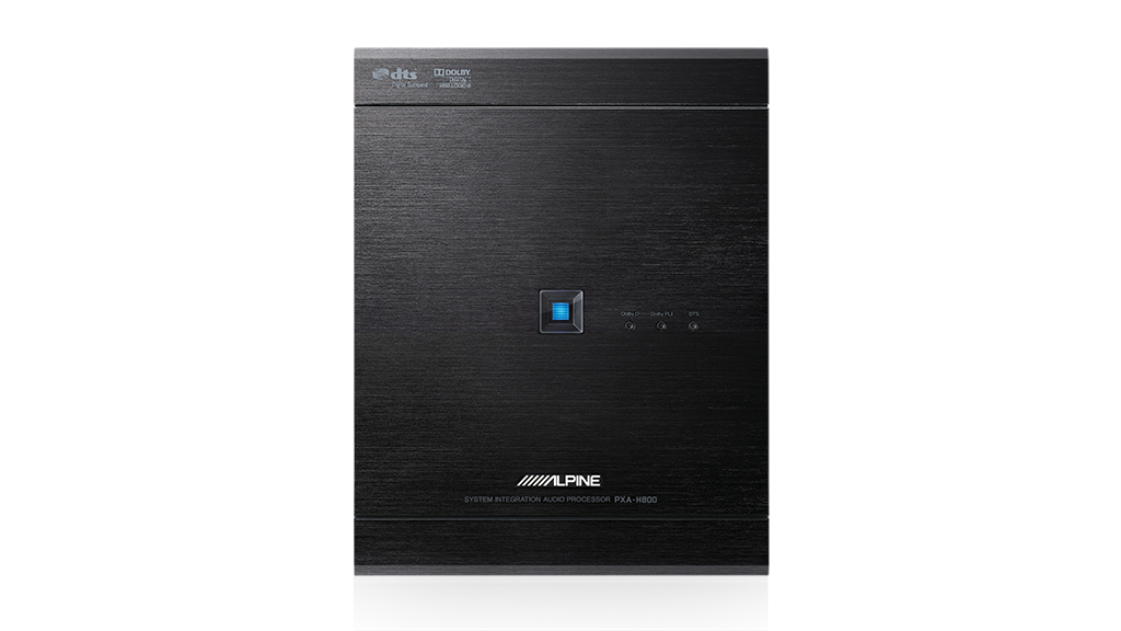 Alpine PXA-H800 6-channel System Integration Audio Processor (Professional Series)