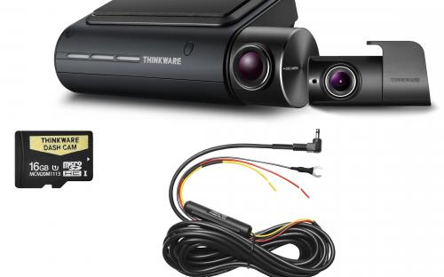 THINKWARE Q800PD16 Front & Rear Dash Camera Pack with 16GB Micro SD Card