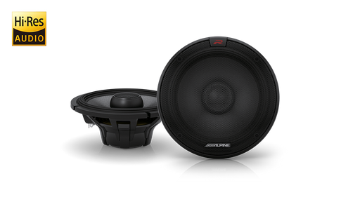 "Alpine R-S65.2 6-1/2"" (165mm) R-Series 300W 2-Way Coaxial Speaker"