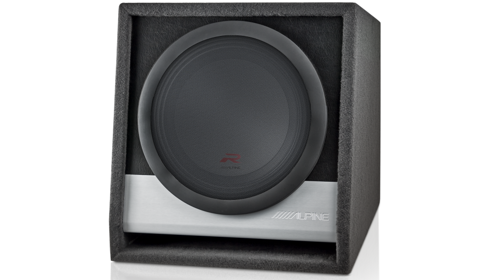 Alpine RSB-W12D4 R-Series 12″ Subwoofer Enclosure (2250W Peak Power)