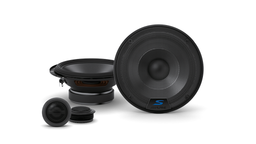 Alpine S-S65C S-Series 6-1/2 Inch 2-Way Component Speaker