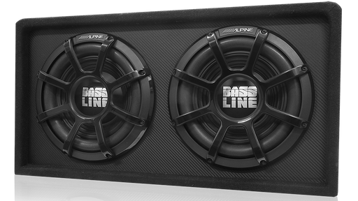 Alpine SBL-D12S4 12″ Dual Subwoofer Enclosure (Bass Series)