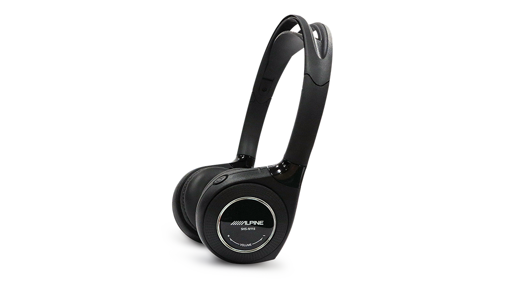 Alpine SHS-N115 Single Channel IR Headphones for AV Monitors