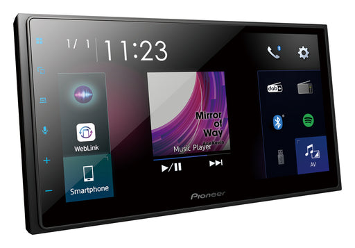 Pioneer SPH-DA250DAB Capacitive Touch-screen Multimedia player with Apple CarPlay, Android Auto, DAB+ Digital Tuner & Bluetooth