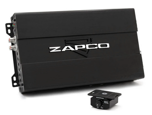 ZAPCO Studio 1 x 1000RMS @1ohm with Remote