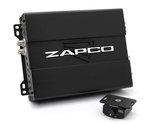 ZAPCO Studio 1 x 500RMS @1ohm with Remote