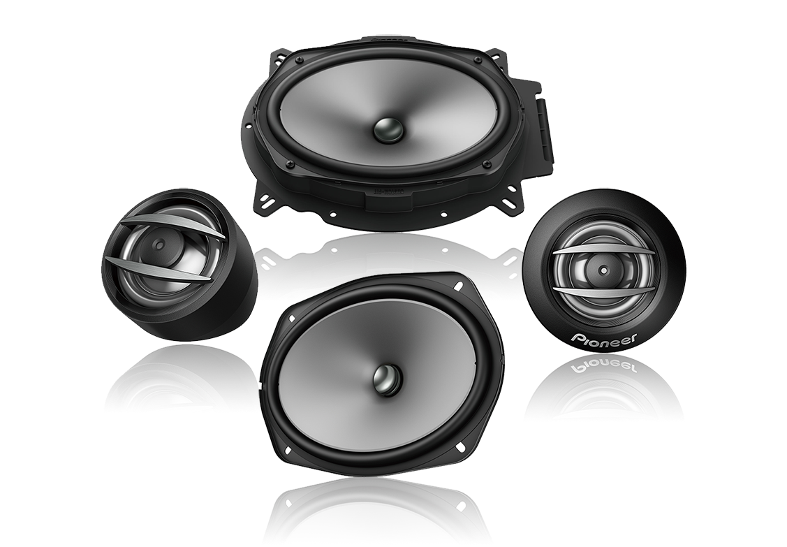 "Pioneer TS-A692C 6×9"" 2-way Component Speaker System"