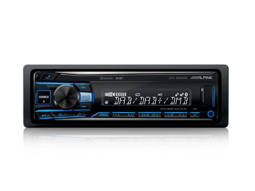 Alpine UTE-204DAB Digital Media Receiver with Bluetooth® / USB / iPod® and iPhone® / FLAC / TuneIt