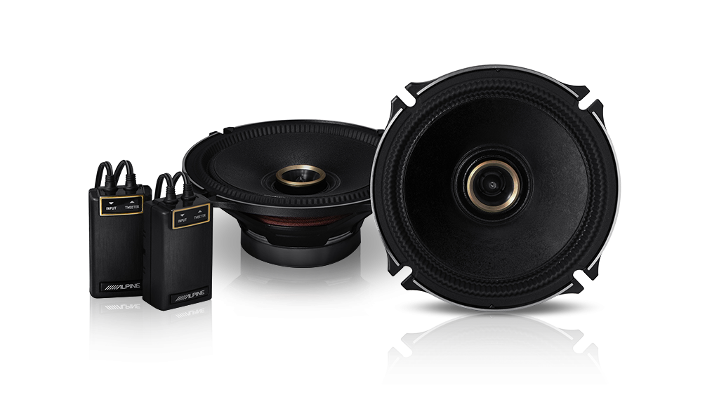 Alpine PDX-180901 Speaker System Pack (PDX-F6 4/3/2 Channel Digital Amplifier, X-170S 6.5″ Component Speakers & X-170C 6.5″ Coaxial Speakers)