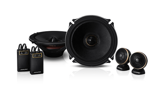 Alpine X-170S X-Premium Sound 6.5″ Component Speakers
