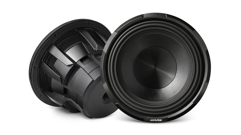 Alpine ILX-180501 iLX-F309E / X-Series Front and Rear Speakers / X-Series Amplifiers and 12″ Subwoofer