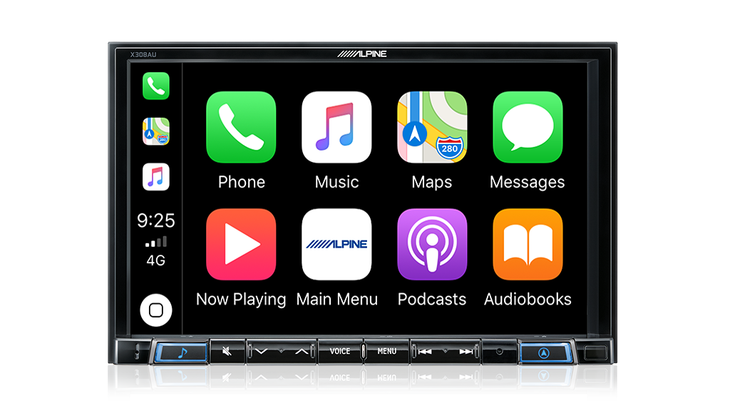 "Alpine X308AU 8"" Primo 3.0 Navigation with Apple CarPlay and Android Auto Advanced Bluetooth® / USB / HDMI / DAB+"