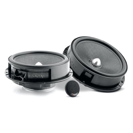 "FOCAL IS165VW 6.5"" dedicated component kit for Volkswagen Golf6, Tiguan, Bora, Jetta, 60Hz-20kHZ, pre-wired for Plug & Play"