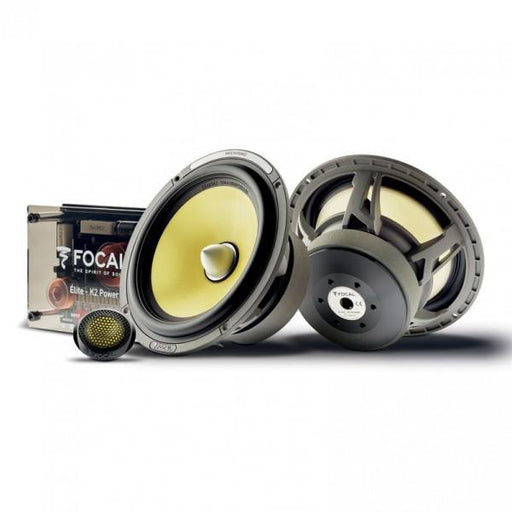 "FOCAL ES 165 K2 6.5"" 2-way Component Kit (Elite Series) [Bi-amp Ready]"