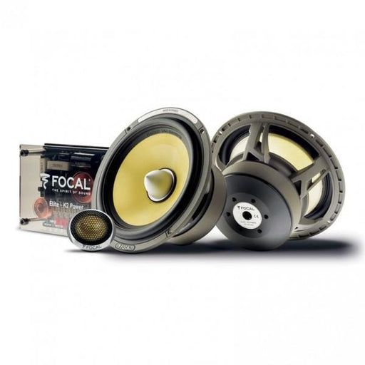 FOCAL ES 165 KX2 2-way Component Kit (Elite Series) [Bi-amp Ready]