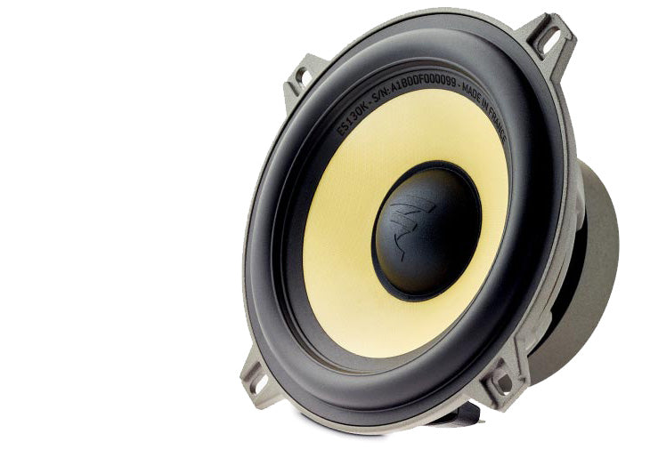 "FOCAL ES130K 5"" component kit, Elite series, 80W RMS, 65Hz-22kHz, 4 ohm"