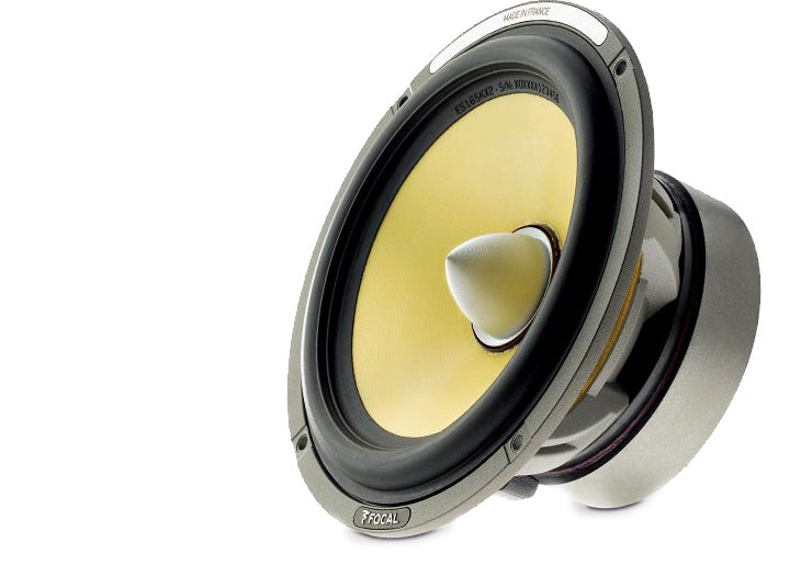"FOCAL ES165K2 6.5"" component kit, Elite series,100W RMS, 60Hz-22kHz, 2 ohm, bi-amp ready"