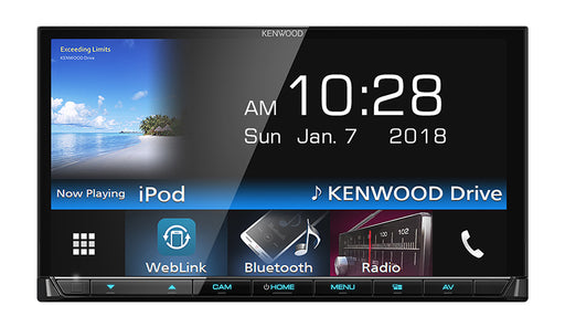 "Kenwood DMX7018BT 7"" Navigation & AV Receiver"