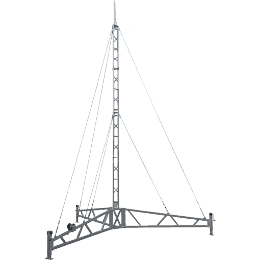 Blackhawk 220 Portable Tripod Lattice Tower (8 metres)