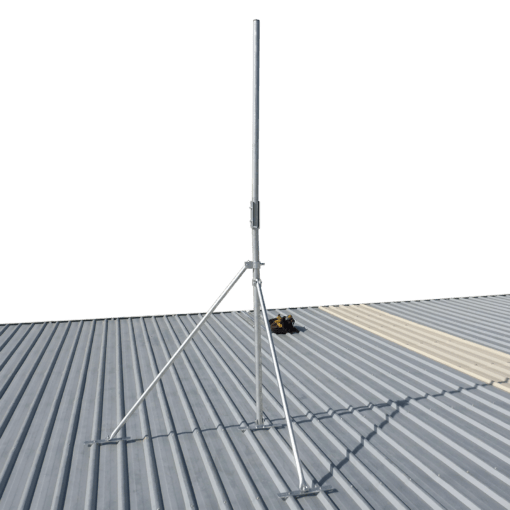 Blackhawk 3-metre Collared Roof Mast (48mm Pole Diametre)