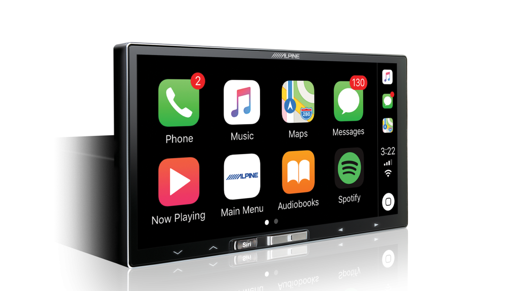 Alpine iLX-107 Wireless Apple CarPlay Audio Visual Receiver