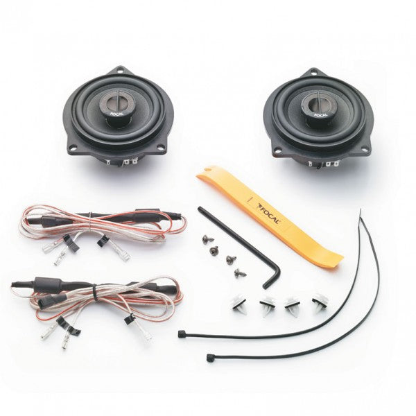 "FOCAL IFBMW-C 4"" Co-axial Speaker Kit for BMW 1 & 3 Series & X1"
