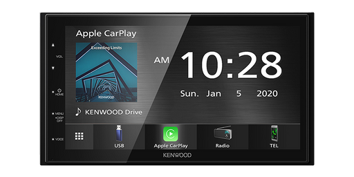 "Kenwood DMX-5020S Digital Multimedia Receiver with 6.8"" WVGA Display & Bluetooth (Apple CarPlay™/ Android Auto™)"