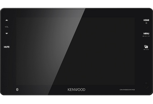 "Kenwood DMX-820WXS Digital Media Receiver with 8"" WVGA Display & built-in Bluetooth"