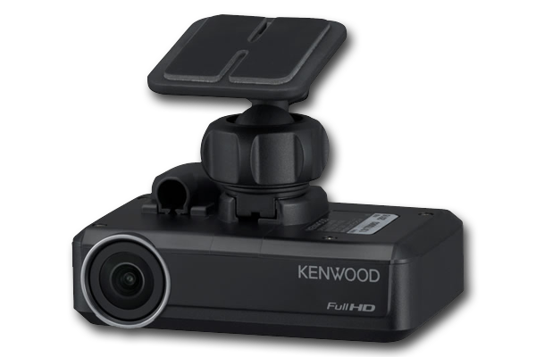Kenwood DRV-N520 Integrated 3-megapixel wide-angle lens Dashboard Camera with ADAS, G-Sensor & GPS (8GB Card Included)