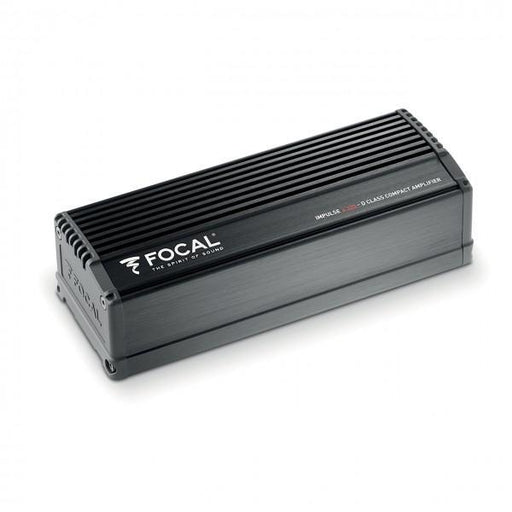 FOCAL Impulse 4.320 4 channel ultra-compact amplifier for in-dash, 4 x 55W RMS (4Ω), 4 x 80W RMS (2Ω)
