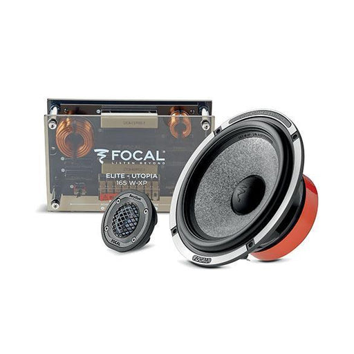 "FOCAL 165W-XP-KIT 6.5"" Utopia 2-way Component Kit with crossovers, bi-amp capable, 2 ohm, 100W RMS, 60Hz-40kHz"