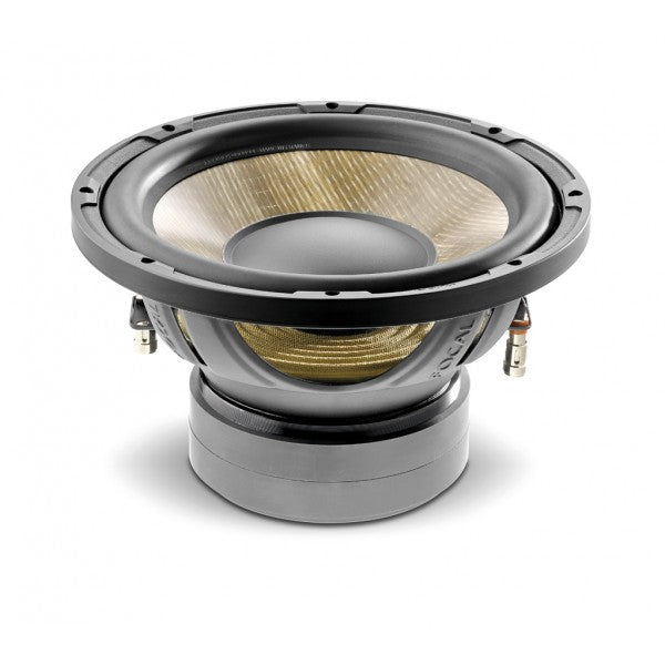 "FOCAL P25 F 10"" Flax subwoofer, 300W RMS, 33Hz-500Hz, for sealed or ported enclosures"