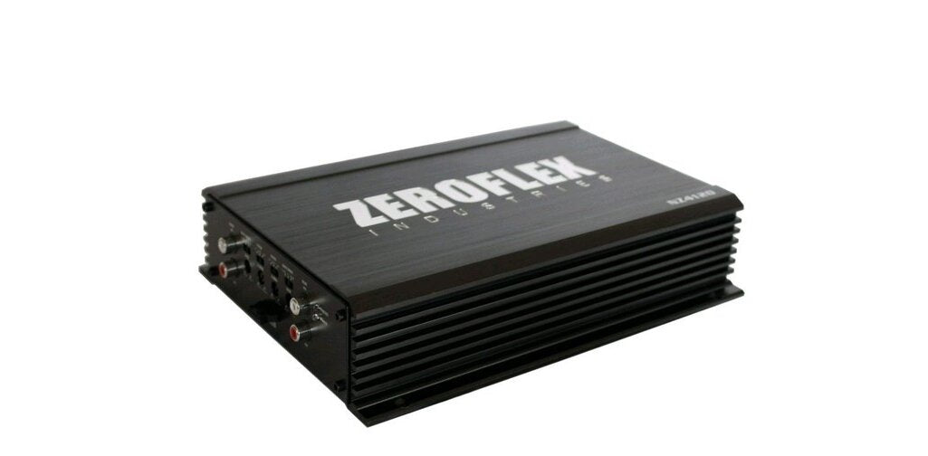 ZeroFlex NZ4120 4 x 120RMS @ 4Ω Amplifier with Bass Remote