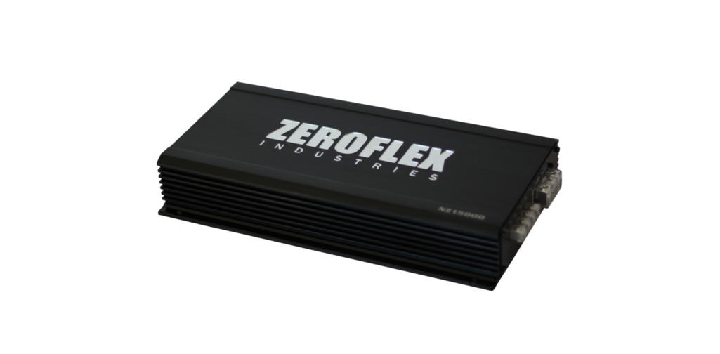 ZeroFlex NZ2000D 1 x 2000RMS @ 1Ω Amplifier with Bass Remote