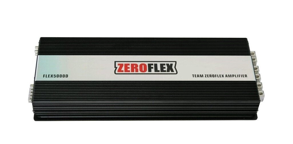 ZeroFlex FLEX5000D 1 x 5000RMS @ 1ΩAmplifier with Strappable Bass Remote