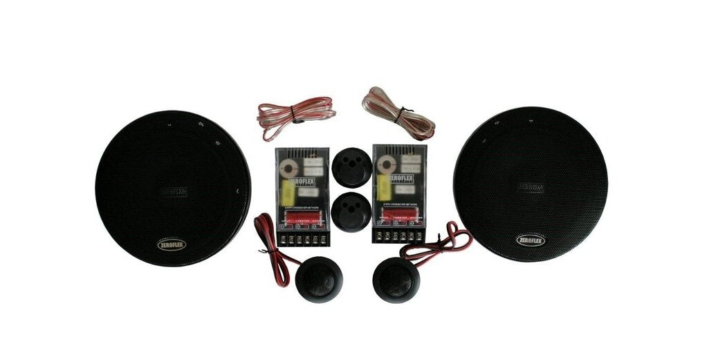"ZeroFlex EFX65C 6.5"" Component Speakers"