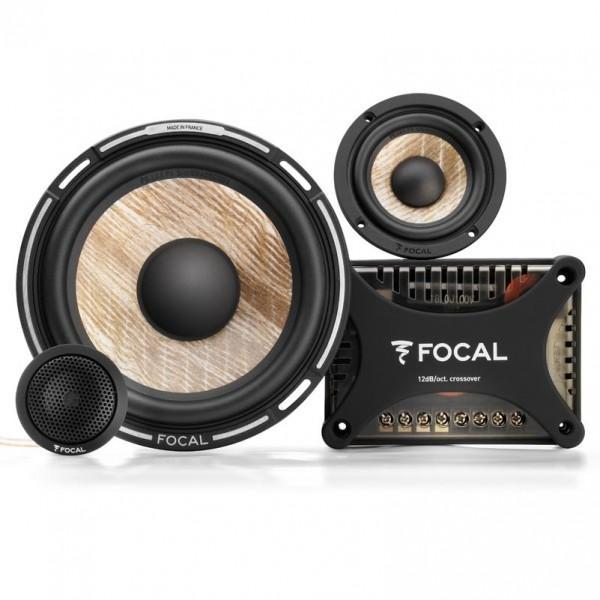 "FOCAL PS165F3 6.5"" Flax 3-way Component Kit (3"" Mid)"