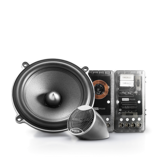 "FOCAL PS 130 V1 5"" Polyglass component kit, 60W RMS, 80Hz-20kHz"