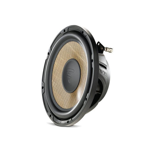 "FOCAL P25FSE 10"" Flax shallow subwoofer, 280W RMS, 35Hz-400Hz, for sealed enclosures"