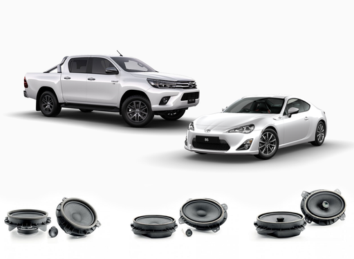 "FOCAL IS 165TOY 6.5"" component kit, Integration series, for Toyota Rav4, Yaris & Corolla"