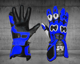 "Gants Moto ""Racing"" - Cuir de Vache - MATT Racing"