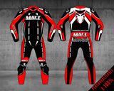 "MATT Racing Moto Custom Combinaison Enfant ""RACING"" - Cuir de kangourou"