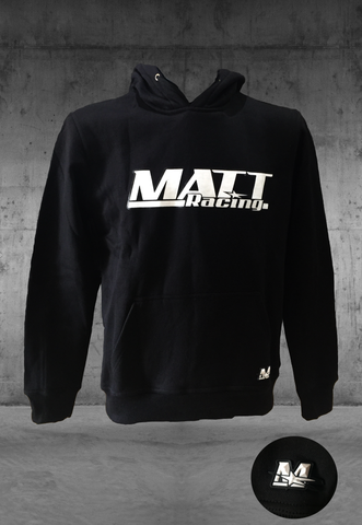 Hoodie - Sweat-shirt à capuche Noir - MATT Racing