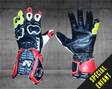 MATT Racing Moto Custom GANTS ENFANT RACING 100% PERSONNALISABLES - CUIR DE VACHE