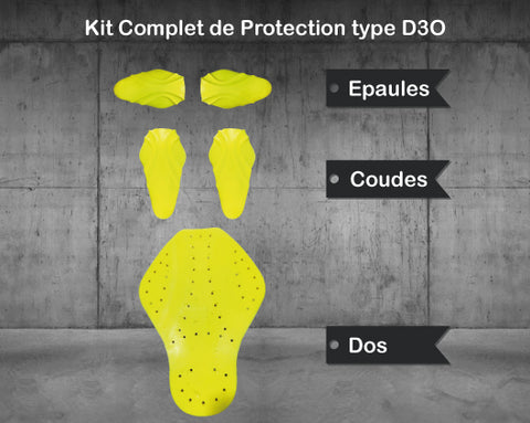 Kit de protection type D3O - MATT Racing
