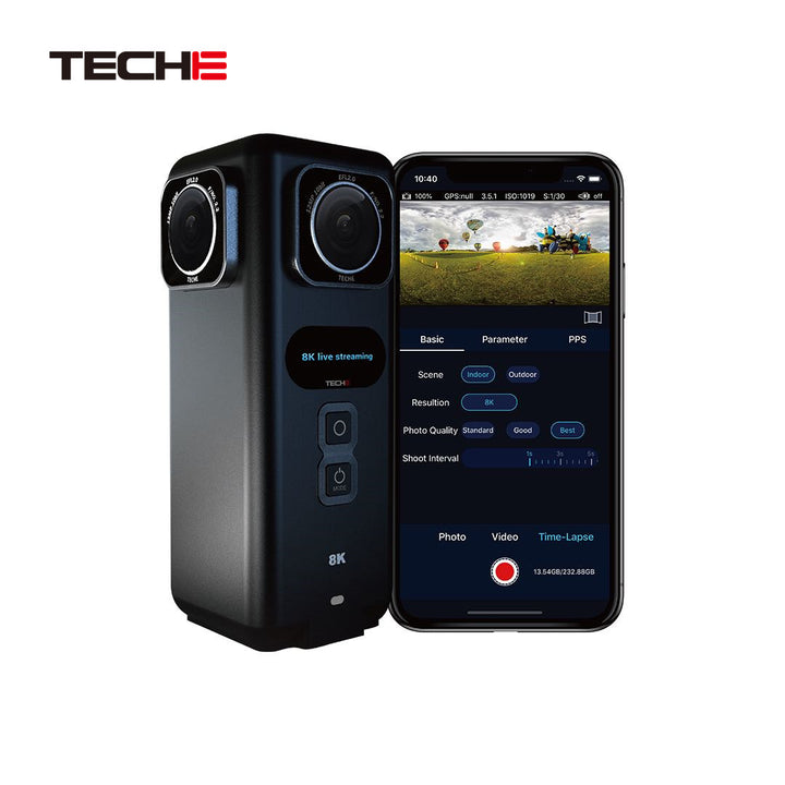 TECHE 360Anywhere 8K VR Video and Live Streaming Camera - Life Pal Store