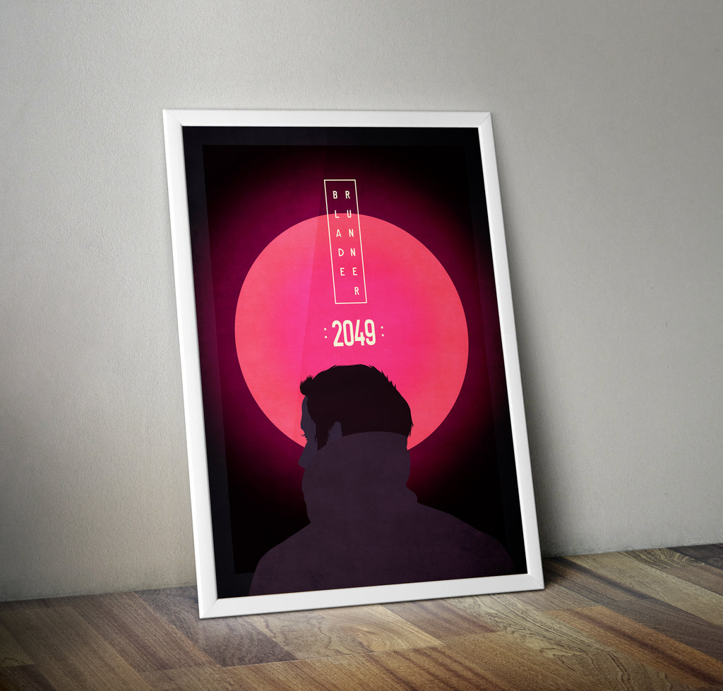 Blade Runner 2049 Alternative Minimal Movie Poster