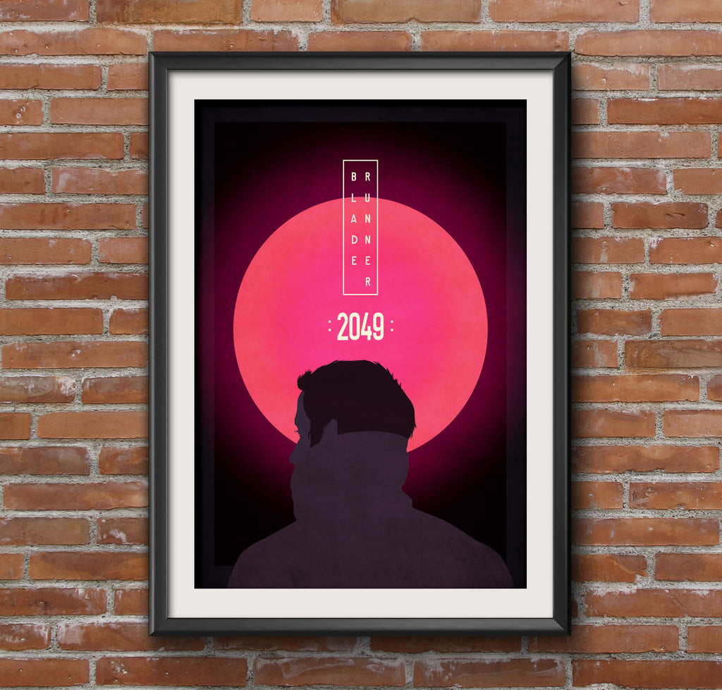 Blade Runner Alternative Wall Art Movie Film Poster
