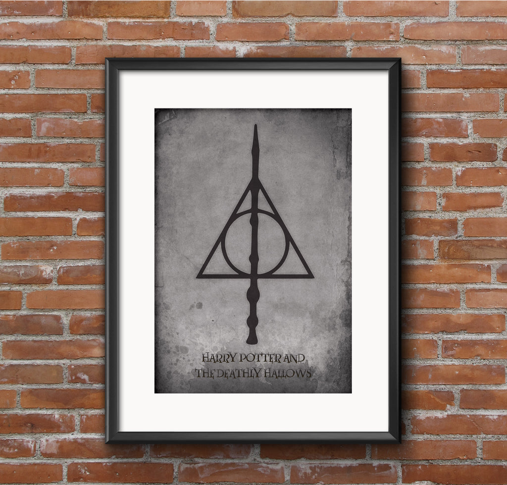 Harry Potter and The Deathly Hallows Film Movie Poster
