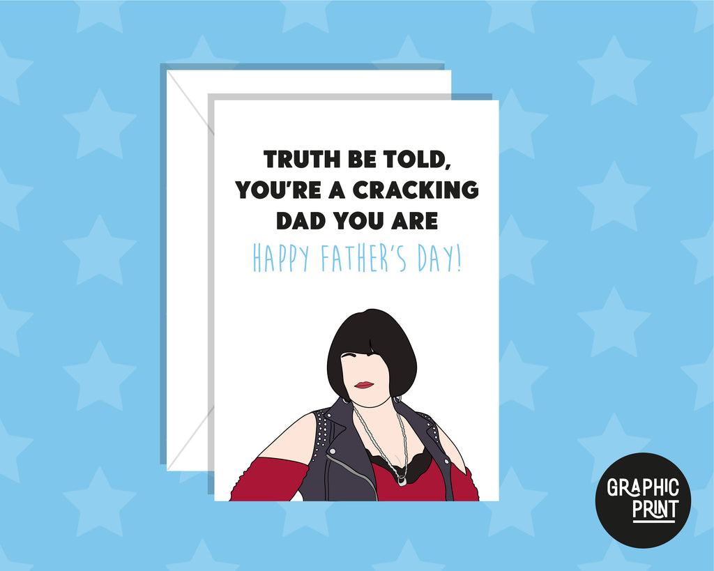 Truth Be Told You Are A Cracking Dad You Are, Gavin & Stacey Father's Day Card